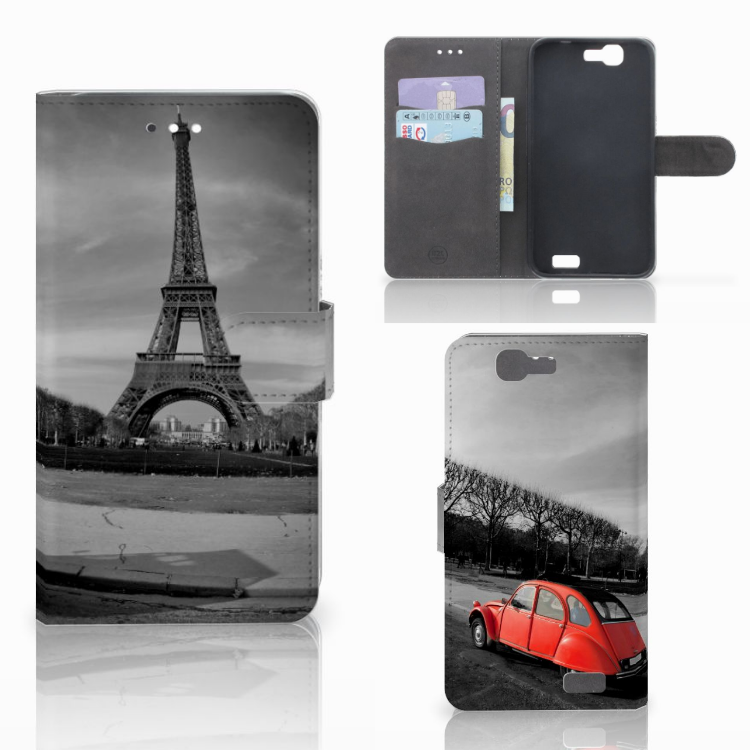 Huawei Ascend G7 Flip Cover Eiffeltoren