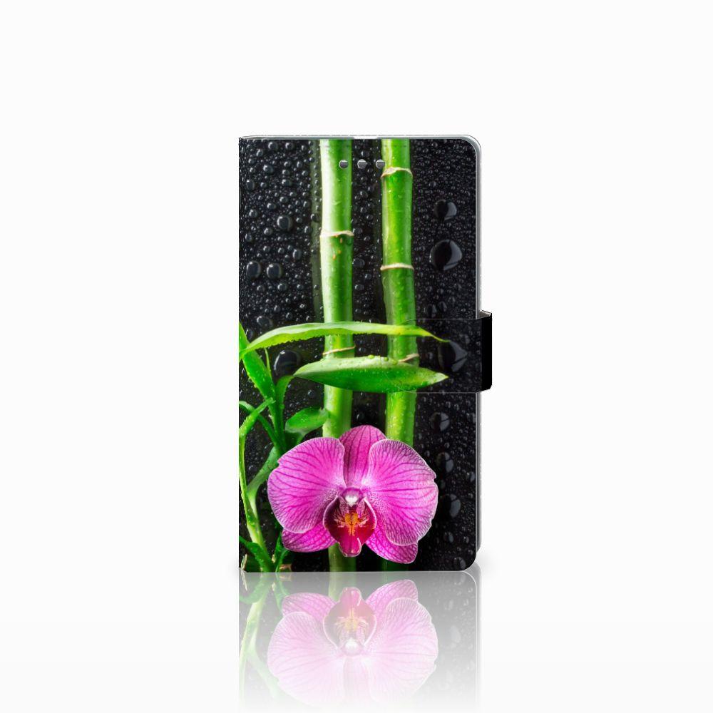 Microsoft Lumia 950 XL Boekhoesje Design Orchidee