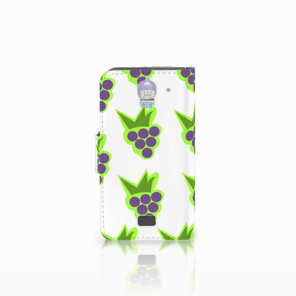 Huawei Y360 Book Cover Druiven