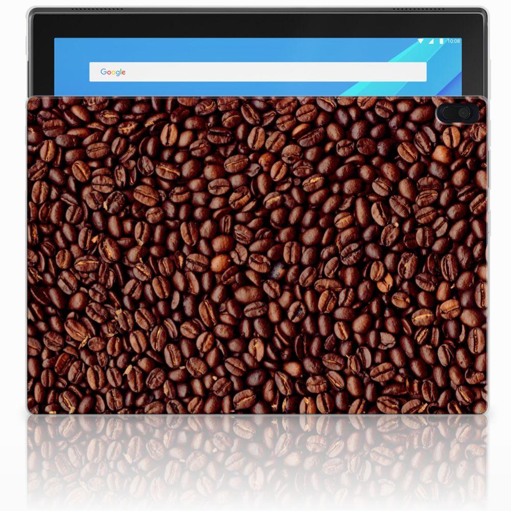 Lenovo Tab 4 10.1 Tablet Cover Koffiebonen