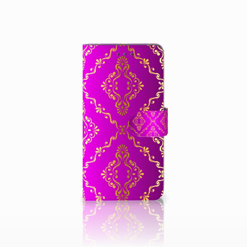 Huawei Mate 8 Uniek Boekhoesje Barok Roze