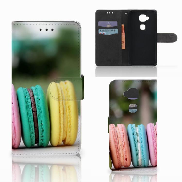 Huawei G8 Book Cover Macarons