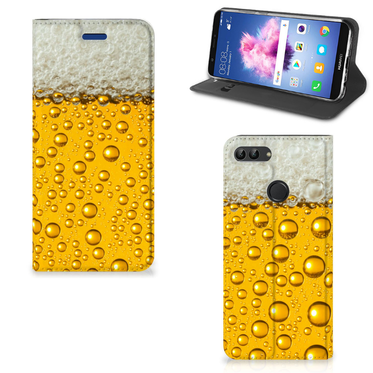 Huawei P Smart Flip Style Cover Bier
