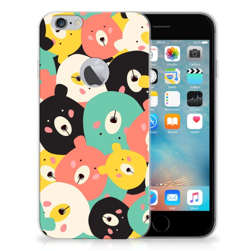 Apple iPhone 6 Plus | 6s Plus Telefoonhoesje met Naam Bears