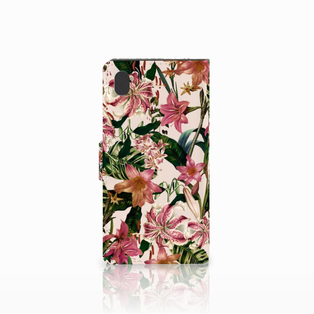 Sony Xperia M4 Aqua Hoesje Flowers