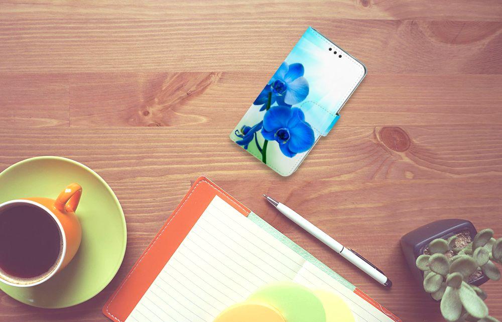 Nokia 3 Boekhoesje Design Orchidee Blauw