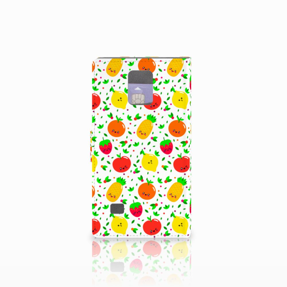 Samsung Galaxy Note 4 Book Cover Fruits