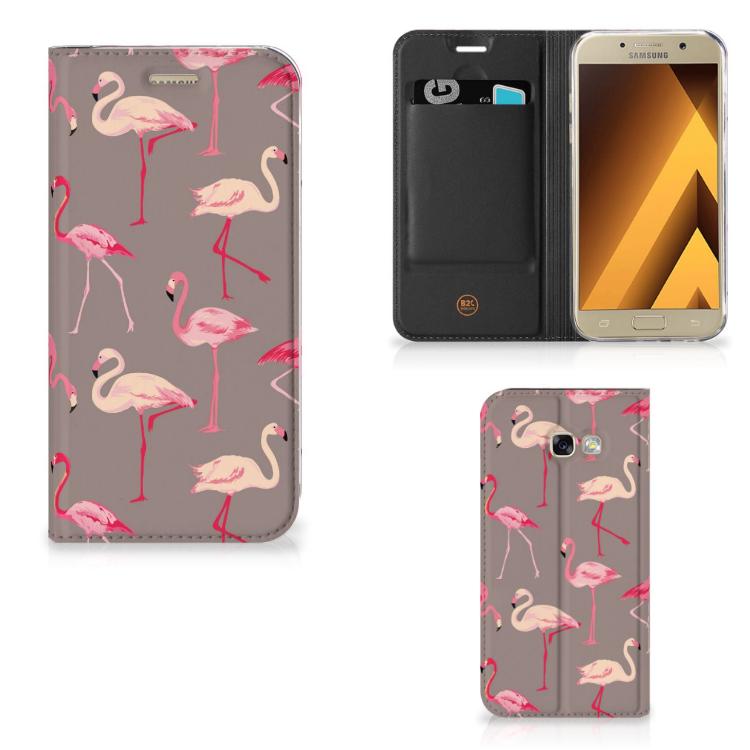 Samsung Galaxy A5 2017 Hoesje maken Flamingo