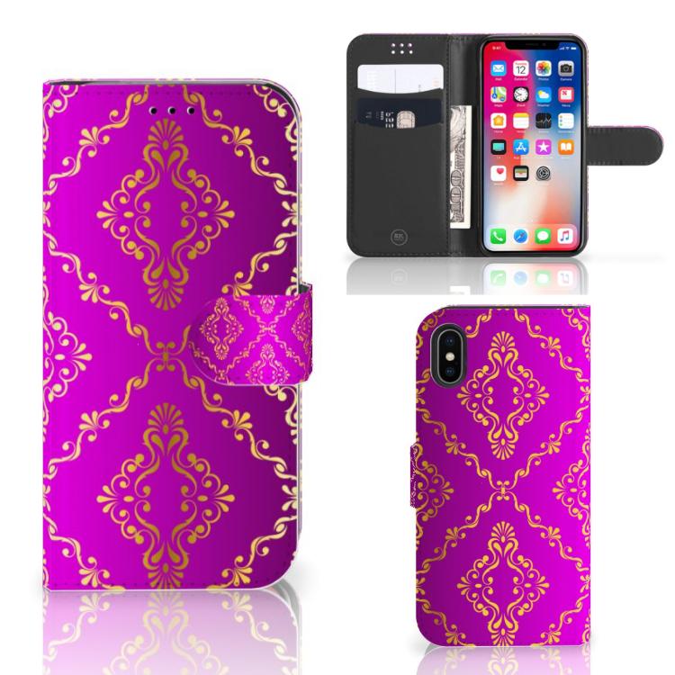 Wallet Case Apple iPhone X | Xs Barok Roze