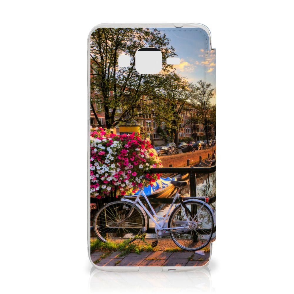 Samsung Galaxy Grand Prime Flip Cover Amsterdamse Grachten
