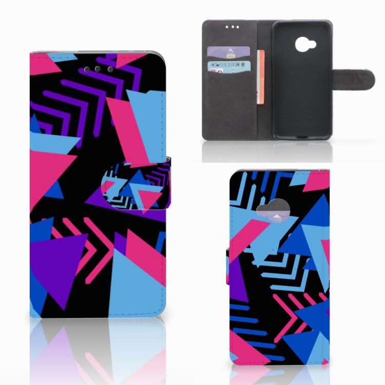 HTC U Play Bookcase Funky Triangle