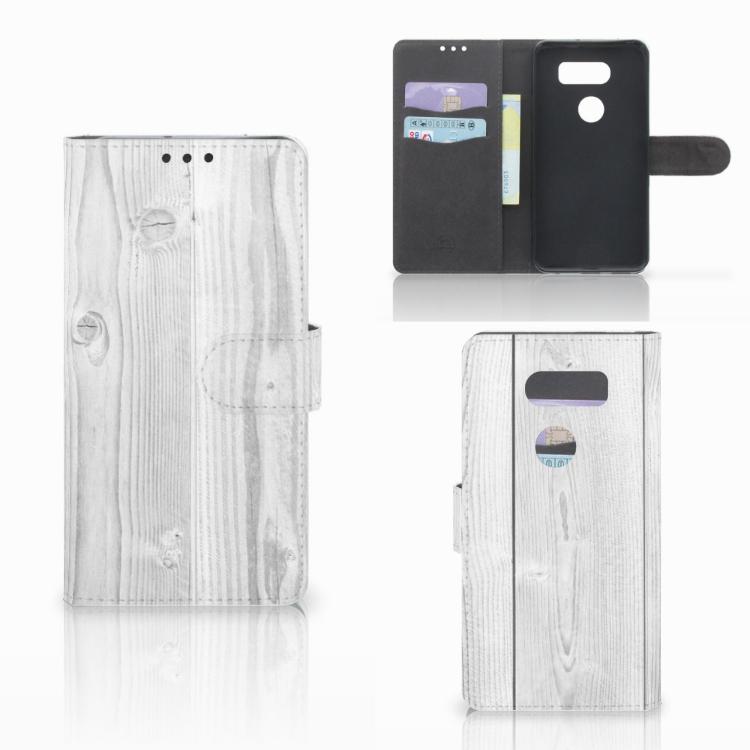 LG V30 Boekhoesje Design White Tree
