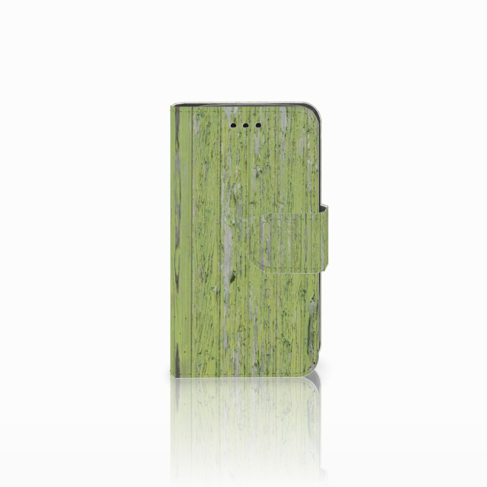 Samsung Galaxy Trend 2 Boekhoesje Design Green Wood
