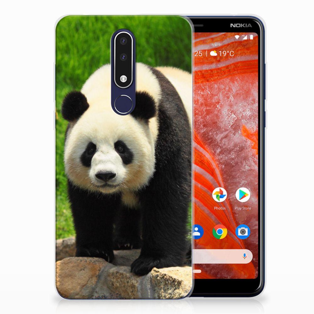 Nokia 3.1 Plus TPU Hoesje Panda