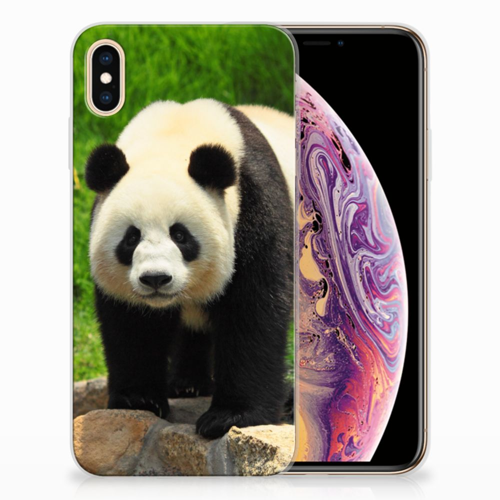 Apple iPhone Xs Max TPU Hoesje Design Panda