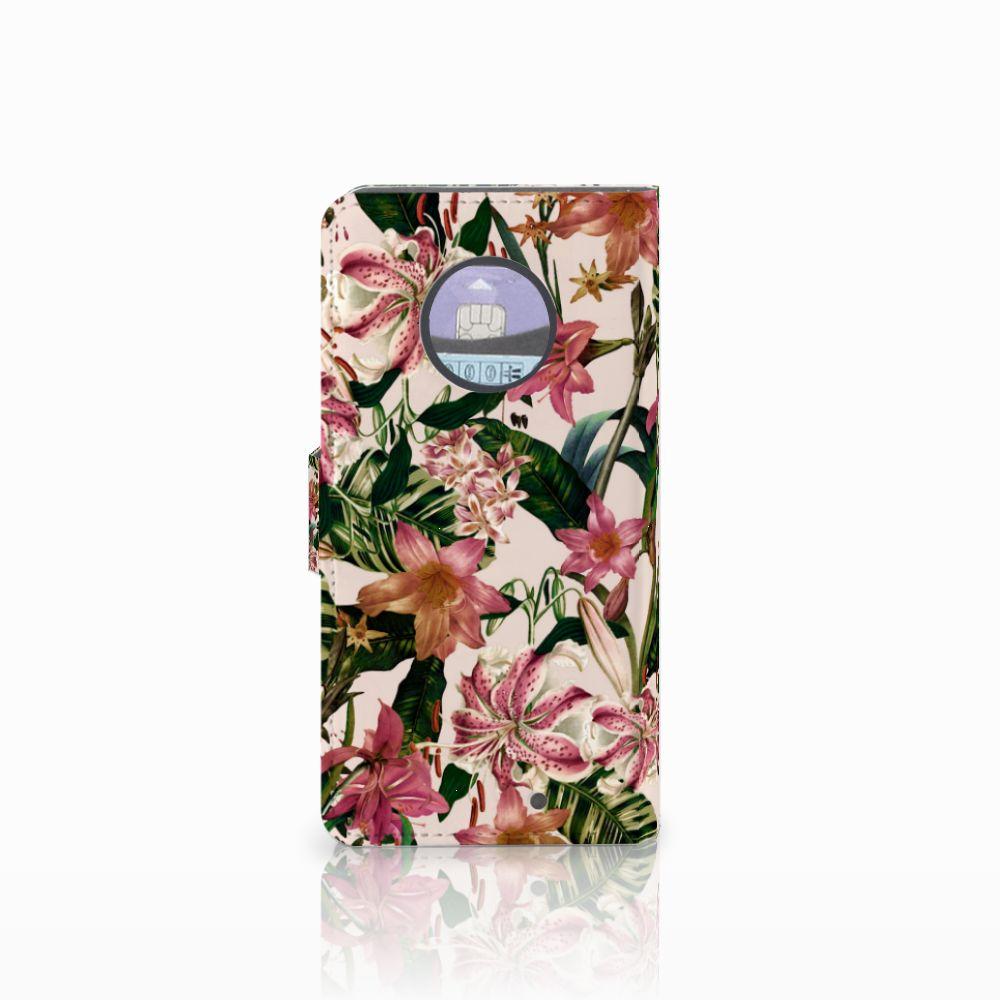 Motorola Moto X4 Hoesje Flowers