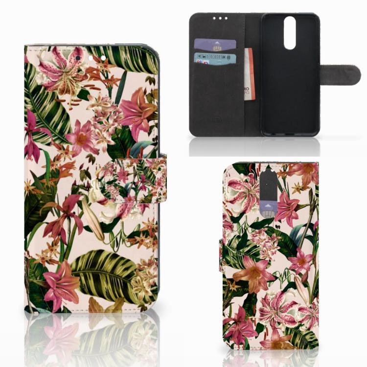 Huawei Mate 10 Lite Hoesje Flowers