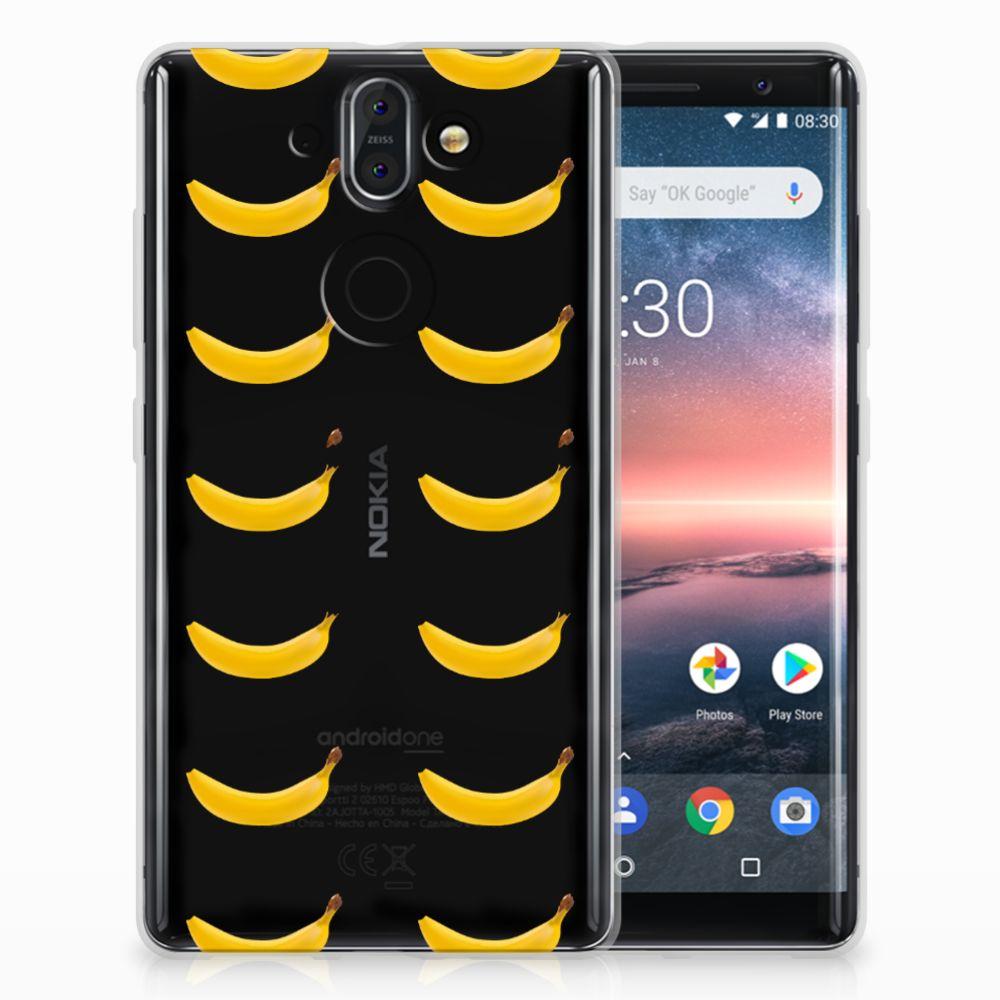 Nokia 9 | 8 Sirocco Siliconen Case Banana