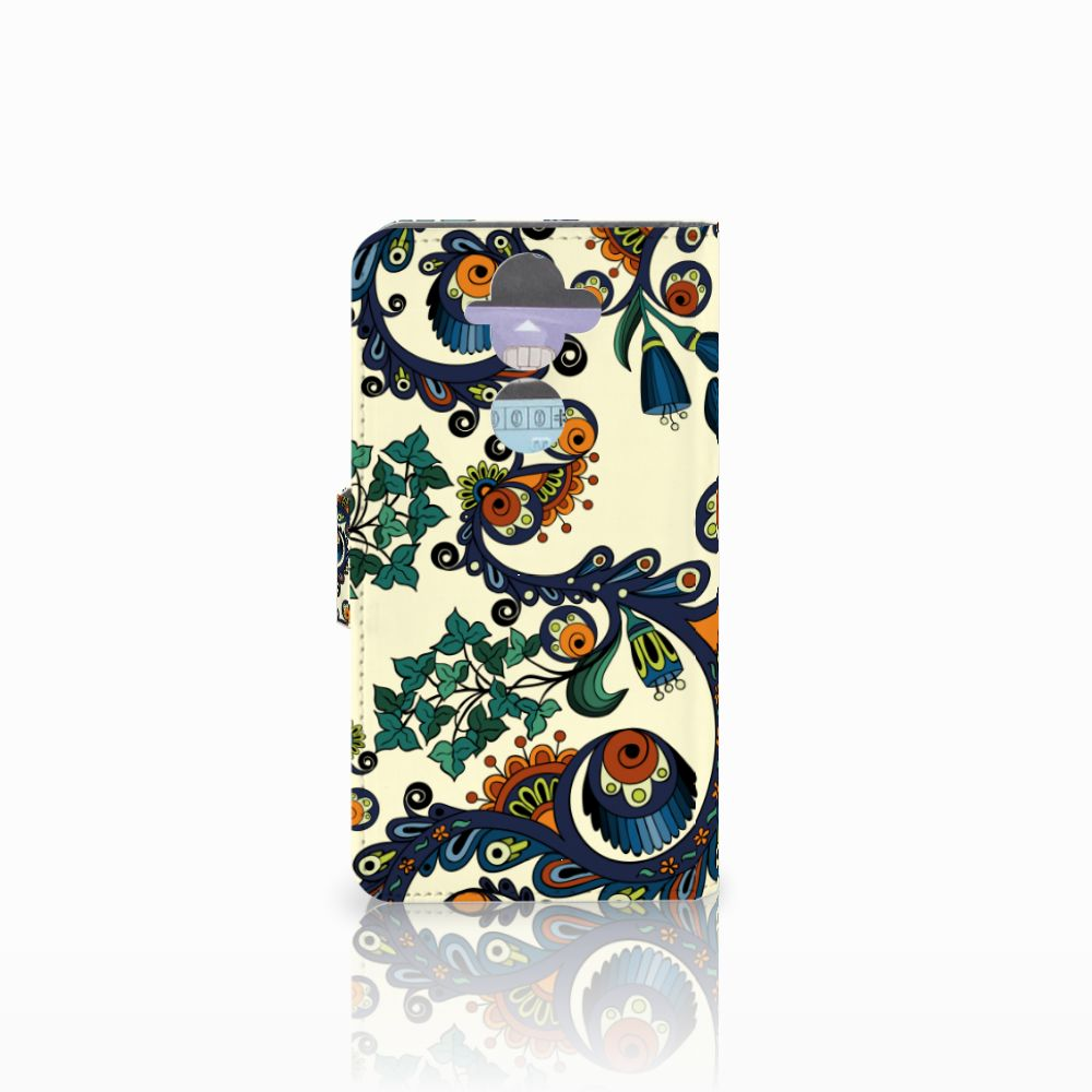 Wallet Case Nokia 8 Sirocco   Nokia 9 Barok Flower