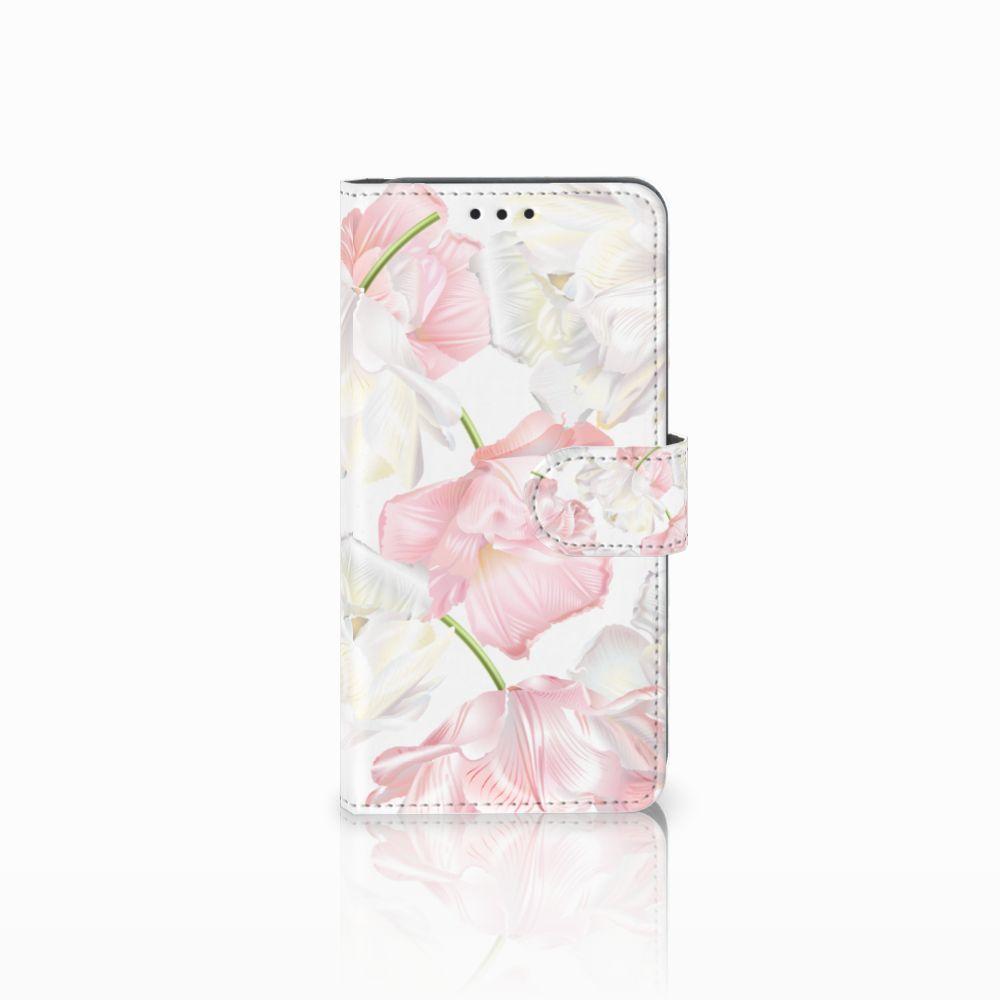 Samsung Galaxy A8 2018 Boekhoesje Design Lovely Flowers