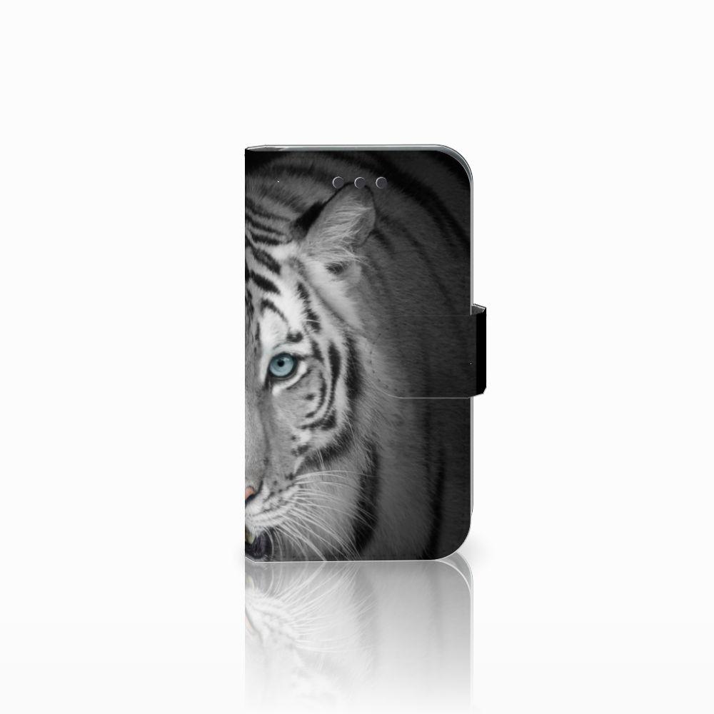 Samsung Galaxy Core 2 Uniek Boekhoesje Tijger