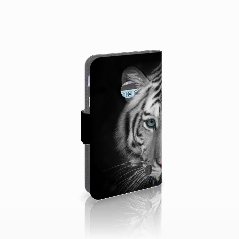Nokia Lumia 520 Uniek Boekhoesje Tijger