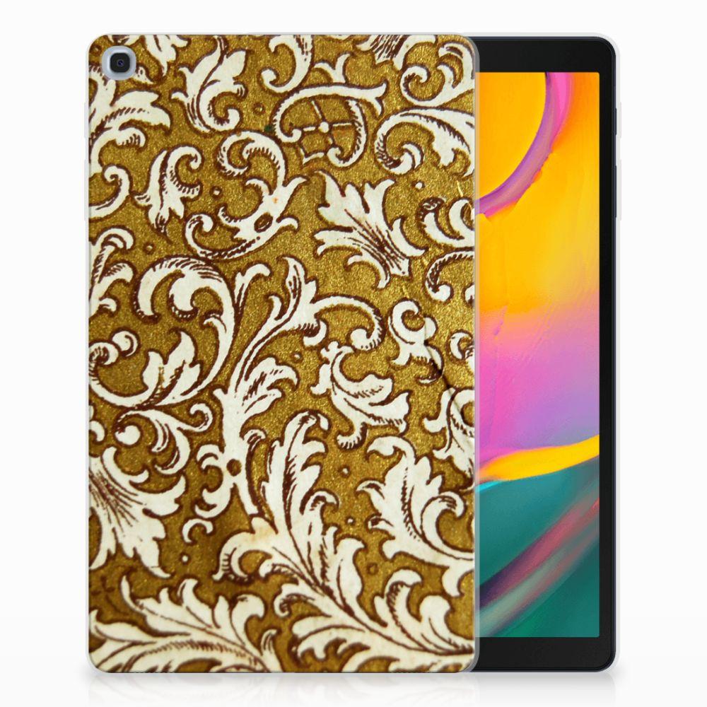 Samsung Galaxy Tab A 10.1 (2019) Tablethoesje Design Barok Goud