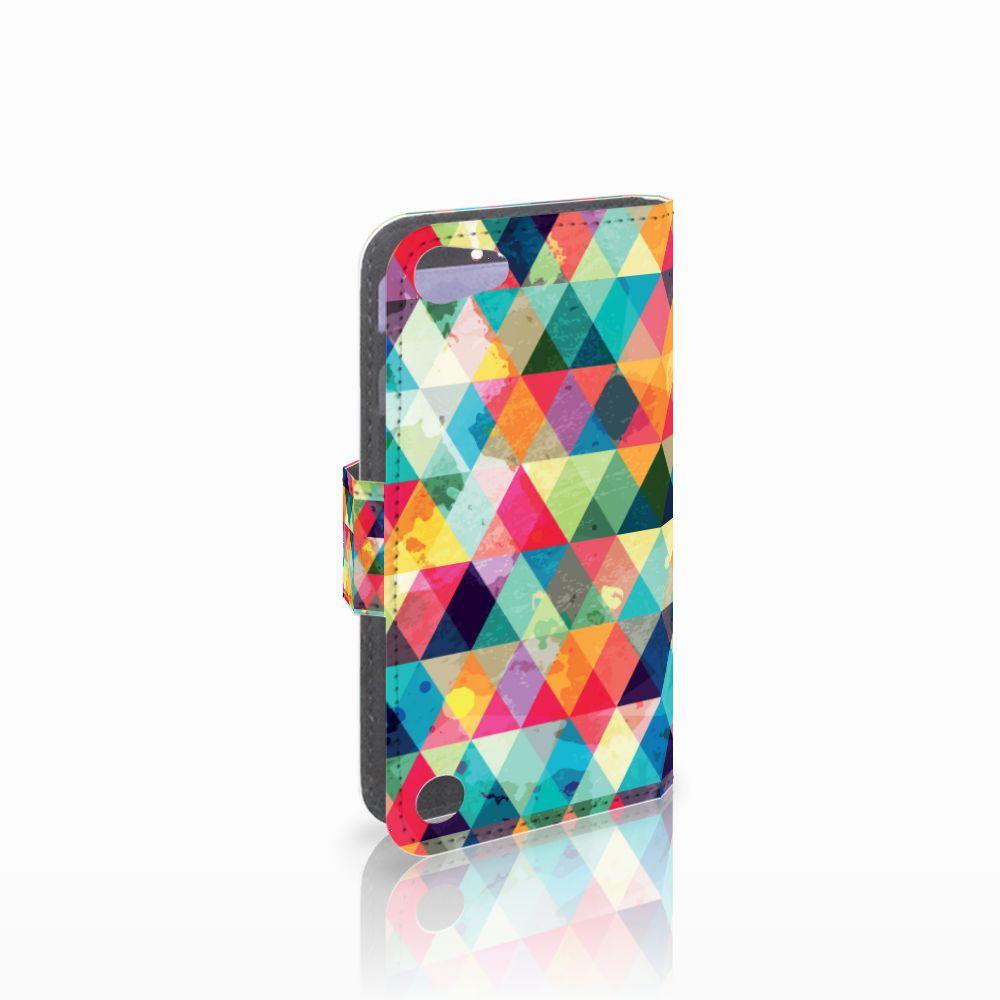 Apple iPod Touch 5 | 6 Uniek Boekhoesje Geruit