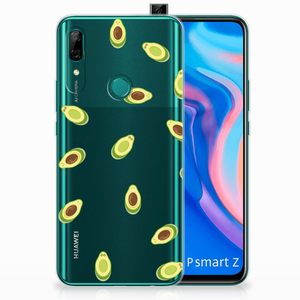 Huawei P Smart Z Siliconen Case Avocado