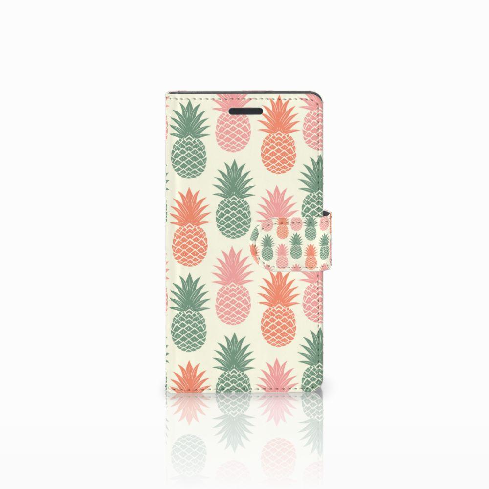 Nokia Lumia 830 Boekhoesje Design Ananas