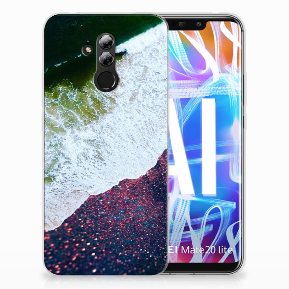 Huawei Mate 20 Lite TPU Hoesje Design Sea in Space