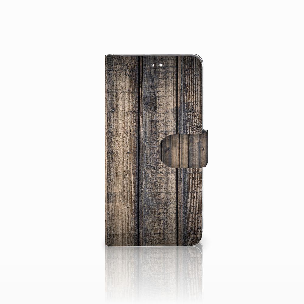 Huawei Honor 9 Boekhoesje Design Steigerhout