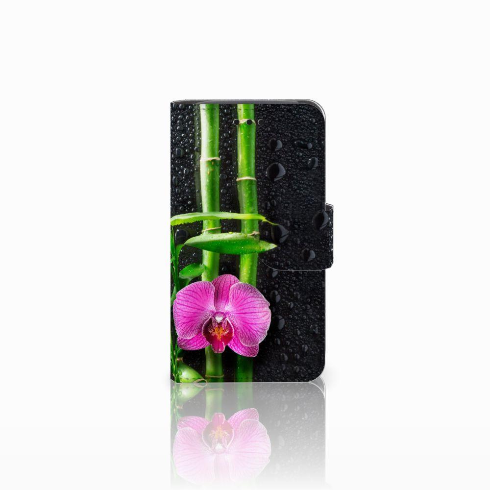 Samsung Galaxy Core i8260 Boekhoesje Design Orchidee