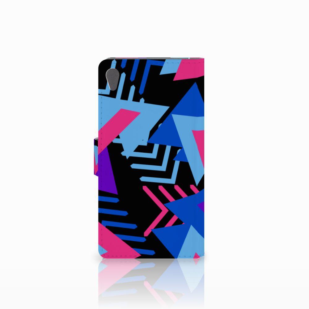 Sony Xperia E5 Bookcase Funky Triangle