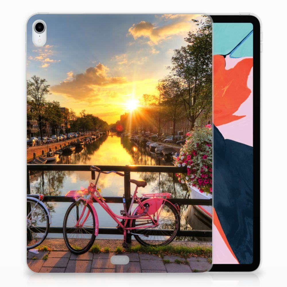 Apple iPad Pro 11 inch (2018) Uniek TPU Hoesje Amsterdamse Grachten