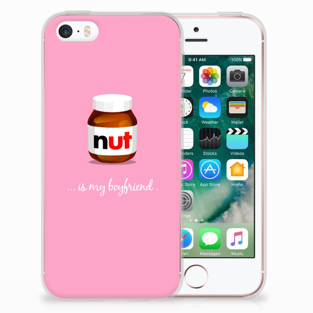 Apple iPhone SE | 5S Uniek TPU Hoesje Nut Boyfriend