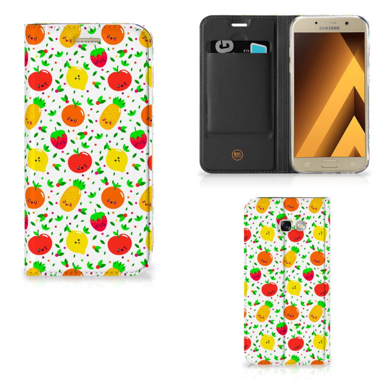 Samsung Galaxy A5 2017 Flip Style Cover Fruits