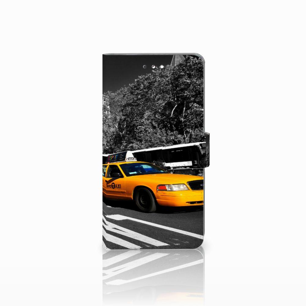 Sony Xperia XZ Premium Flip Cover New York Taxi