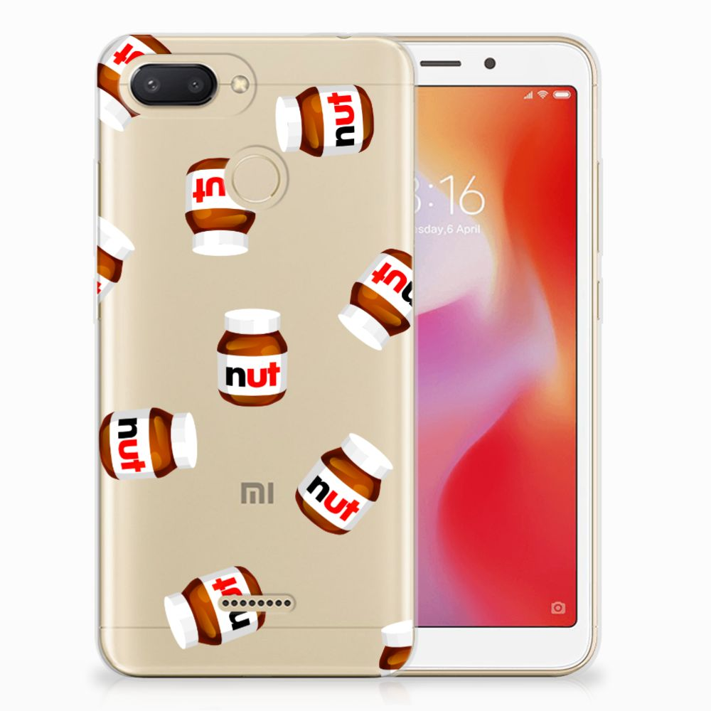 Xiaomi Redmi 6 Siliconen Case Nut Jar
