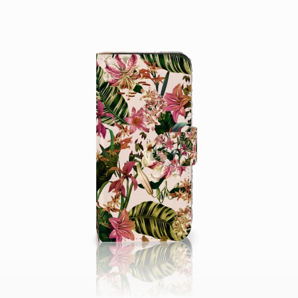 HTC One Mini 2 Uniek Boekhoesje Flowers