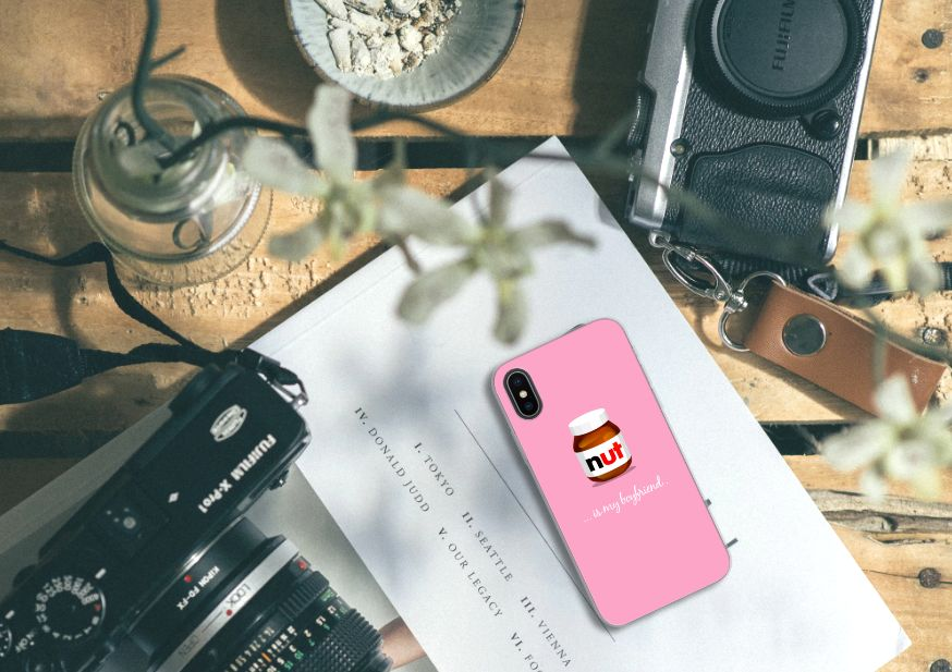 Apple iPhone X   Xs Siliconen Case Nut Boyfriend