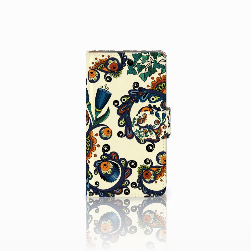 HTC Desire 310 Boekhoesje Design Barok Flower