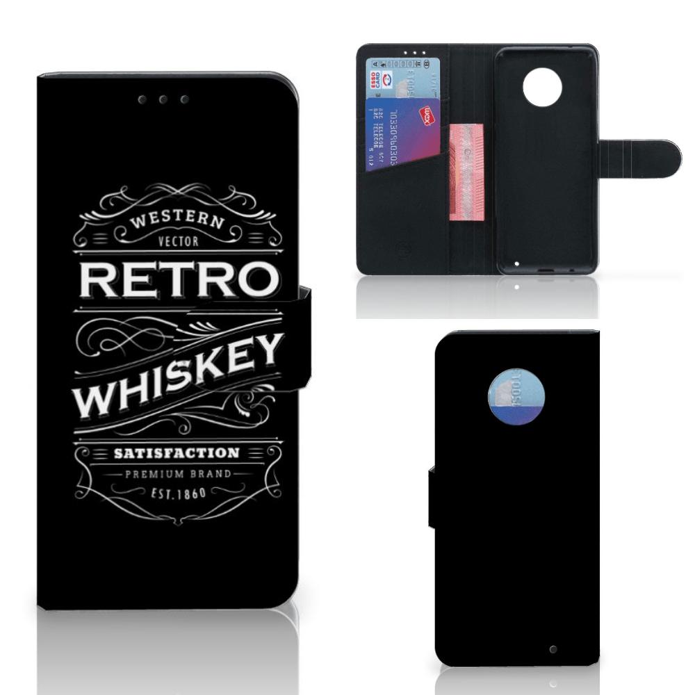 Motorola Moto G6 Plus Book Cover Whiskey