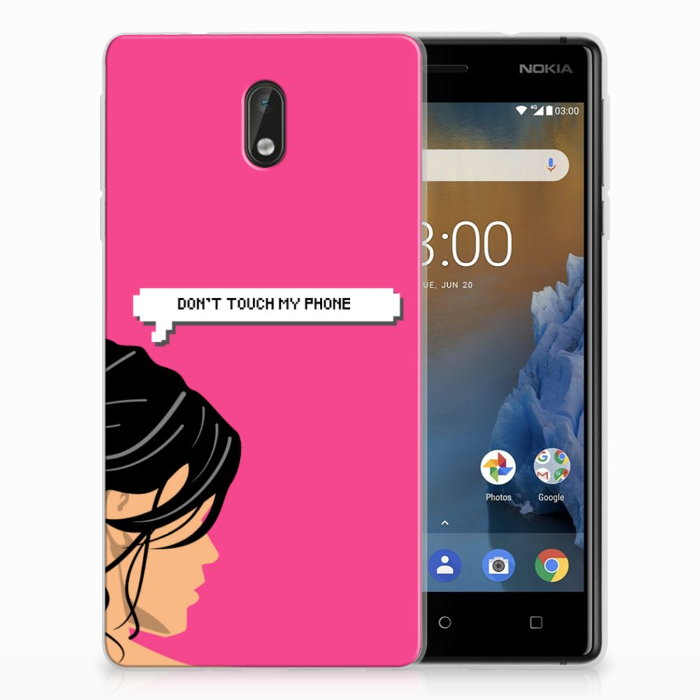 Nokia 3 Uniek TPU Hoesje Woman DTMP