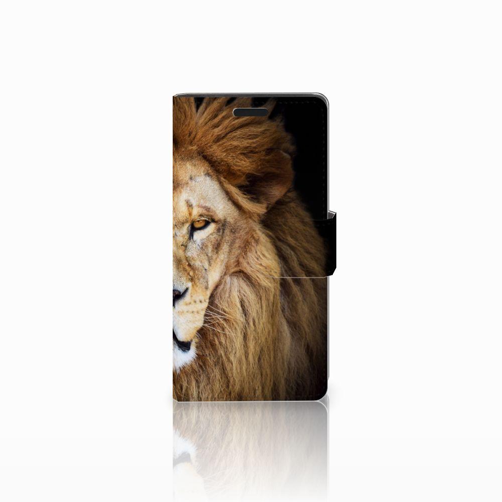 LG Leon 4G Boekhoesje Design Leeuw