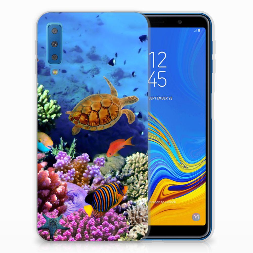 Samsung Galaxy A7 (2018) Leuk Hoesje Vissen