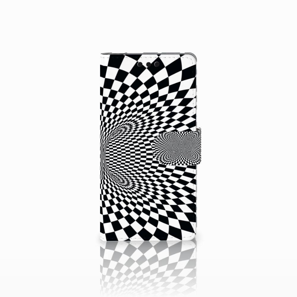 Sony Xperia M4 Aqua Bookcase Illusie
