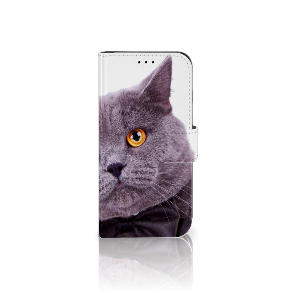 Apple iPhone X | Xs Telefoonhoesje met Pasjes Kat