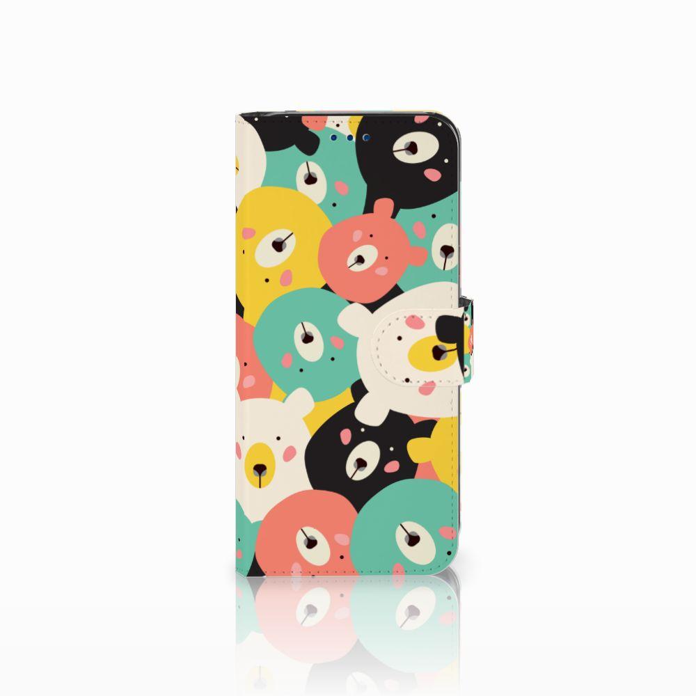 Samsung Galaxy S8 Uniek Boekhoesje Bears