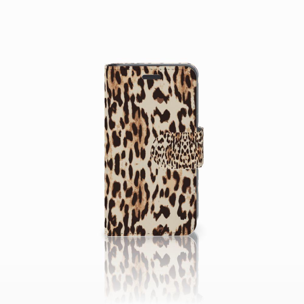 Nokia Lumia 520 Uniek Boekhoesje Leopard